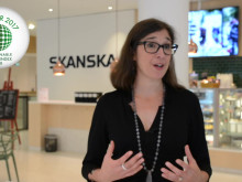 Lena Hök, Skanska om vinsten i Sustainable Brand Index B2B 2017 (kort film)