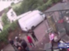 CCTV of the incident