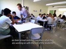 HP gjenoppfinner klasserommet på Teknologiskolen Hundsund med HP Learning Studio