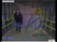 CCTV footage of man police wish to speak with ref: 238941