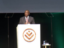 President Cyril Ramaphosa at the 2018 Discovery Leadership Summit