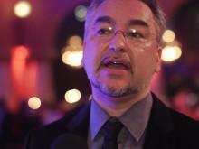 Alfons Karabuda om stipendiater 2012 och samarbetet med Songwriters Guild of America