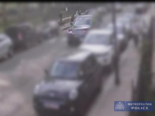 CCTV of watch robbery, SW3