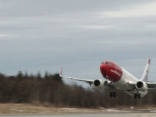 Take-off LN-NOJ at BGO