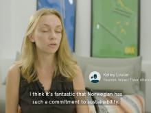 Norwegian is the greenest airline on transatlantic flights