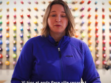 VIDEO Sustainability Developer i Bergans, Yngvill Ofstad.