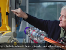 James Dyson talks about Dyson Cyclone v10 - Cyclone Technology