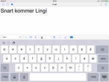 Lingit STL+ for iPad