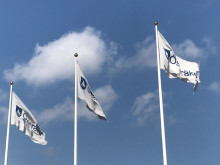 Österåker kommun flaggor filmklipp