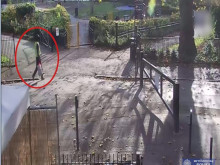 CCTV footage of man police wish to identify