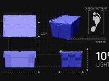 Ny plastback med integrerat lock - KAIMAN