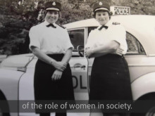 100 Years of Women in Policing video