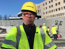 Hans Hägglund, professor och verksamhetschef blod- och tumörsjukdomar, Akademiska sjukhuset.