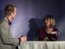 Mattias Lundberg intervjuar Prof Janette Atkinson på Psykologisk Salong 6 dec 2012. #psykologi #umu #umeå