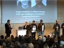 Prisutdelning Stora Property-priset 2008