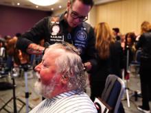 Seminar Calligraphy Cut für die Barber Angels im Oktober 2019