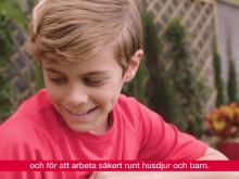 Säkerhet kring barn och husdjur för Honda Miimo robotgräsklippare HRM310/520/3000
