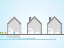 Gründe für Glasfaser (2) - In nur einem Tag vom Bürgersteig in Ihr Haus