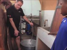 Comfort installerar  i Togo tillsammans med SOS-Barnbyar