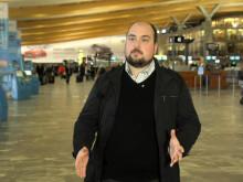 Vinner av Årets Nyhetsrom 2014: Oslo Lufthavn AS v/Joachim Wester Andersen og Lasse Andrè Vangstein