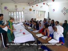 Thoren Business School Västerås gör skillnad för flickskola i Bangladesh
