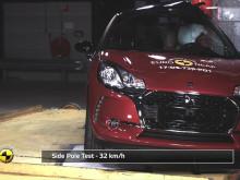 DS 3 crash test montage - Dec 2017