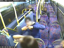 CCTV of N31 bus incident
