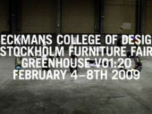 1+1=3 A MEETING BETWEEN TWO CREATES SOMETHING NEW - Beckmans Designhögskola på Stockholm Furniture Fair