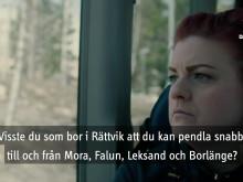 En bra grej för dig som bor i Rättvik och jobbar någon annanstans!