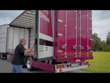 Berg Kapell PVC-lättviktsdörrar till Pacton Trailers Nederländerna