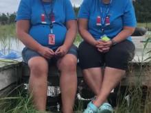 På läger med Diabetesmammorna Lotta Carlberg och Helena Westlin