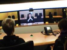Aspuddens skola träffade riksdagsledamot på COP 15