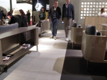 Cosentino with furniture producers at Salone