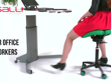 Salli Saddle Chair: Sitting for Wellbeing
