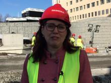 Vivianne Macdisi, regionråd (S), ordförande i sjukhusstyrelsen.