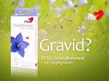 Reklame - RFSU Graviditetstest