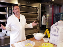UK-born chef uses baking skills to see the world