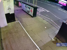 CCTV appeal:  Brompton Road criminal damage incidents