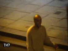 CCTV footage of man police with to speak with
