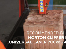 Norton Clipper CM70 ALU kivisaha – video