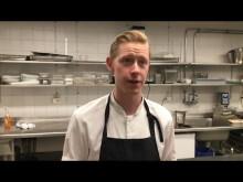 Köksmästare Magnus Santesson berättar varför Stadshuskällaren är en KRAV-certifierad restaurang