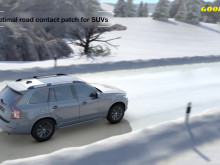 UltraGrip Ice SUV - Optimal road contact patch