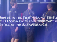 Bluewater and Artemis Racing Battle Single Use Plastics