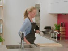 Oras Optima kjøkkenkran med Charlotte Mohn