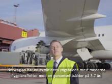 Norwegian är världens mest bränsleffektiva flygbolag över Atlanten