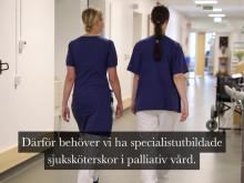 Ny specialistutbildning i palliativ vård i samverkan mellan Ersta Sköndal Bräcke högskola och Sophiahemmet Högskola