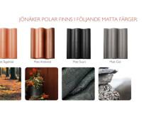 JÖNÅKER POLAR – matt och tåligt tak i naturliga färger