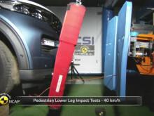 Ford Explorer Euro NCAP testing November 2019
