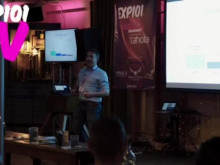 Peter Briffett from Wagestream at EXP101 #3 in London
