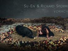 SU-EN, Voracious - glupskhetens kropp, videoverk i samarbete med Rickard Sporrong. Introduktion till videoverket